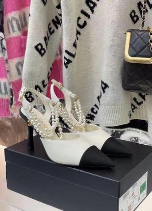 Туфли в стиле chanel