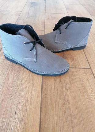 Замшевые ботинки дезерты инблу inblu