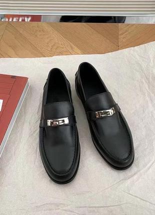 Туфли в стиле hermes