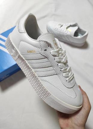 Женские кроссовки adidas samba