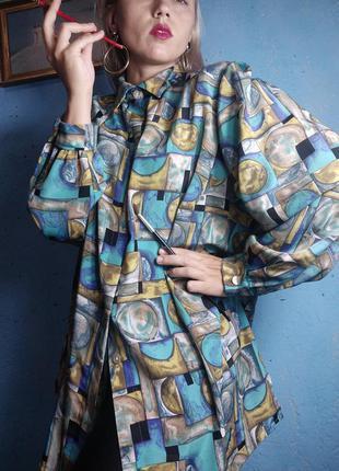 Шикарная футуристическая блуза малевич авангардная