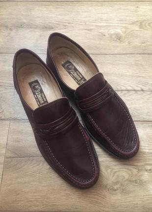 Итальянские кожаные  мягкие,легкие туфли  vero cuoio,на 42 р