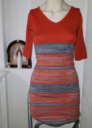 Кашемировое платье + подарок майка zara