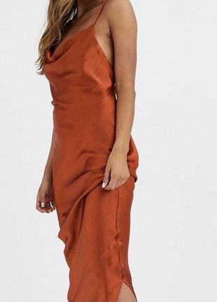 Платье комбинация шелковое