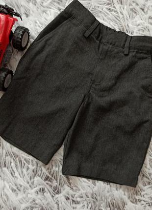 Детские шорты костюмные, детские шорты next grey