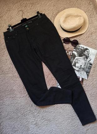 Черно-серые джинсы/джеггинсы/штаны/брюки