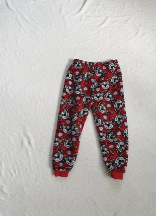Штанишки пижамные для ребёнка  3-4 лет