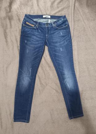 Штаны джинсы скинни узкачи стрейчевые