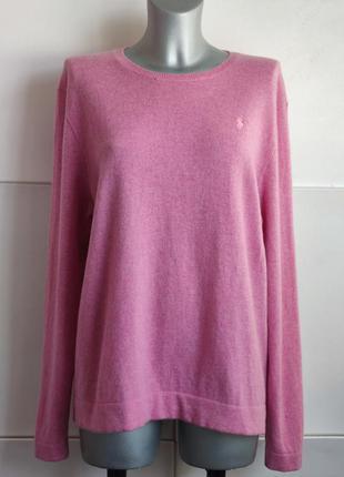 Шерстяной  свитер ralph lauren  с розового цвета