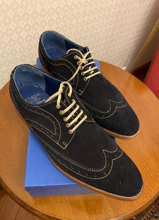 Туфли мужские barker(оригинал англия)