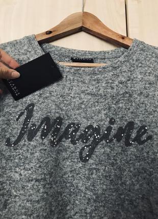 🔥 ооочень красивый пуловер с камнями canda premium
