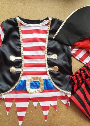 Карнавальный костюм 3-4 года пират хеллоуин