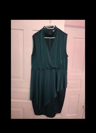 Атласне оксамитове плаття