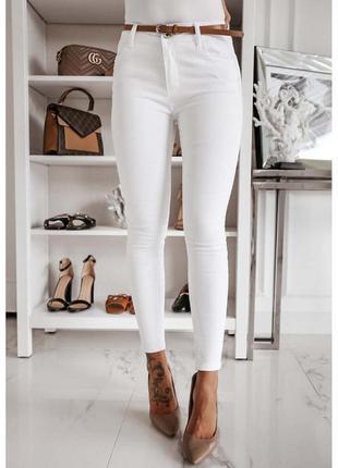 Белые джинсы скинни topshop білі джинси скіні джинсовые штаны белые