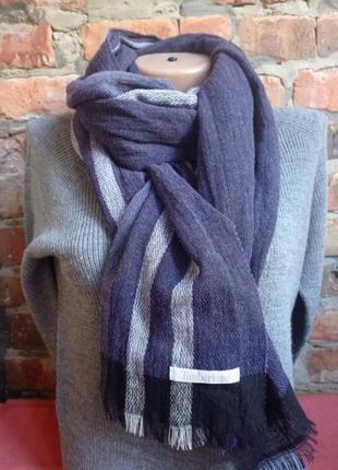 Фирменный шарф- палантин timberland (italy)