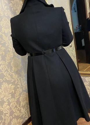 Пальто чорне для сучасної, стильної,чарівної жінки