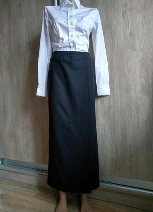 Christa de carouge дизайнерская шерстяная юбка