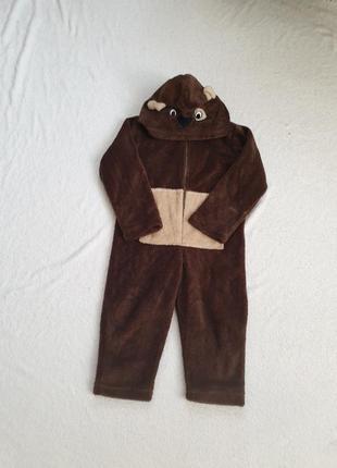 Кигуруми, пижама для мальчика 3,4 лет