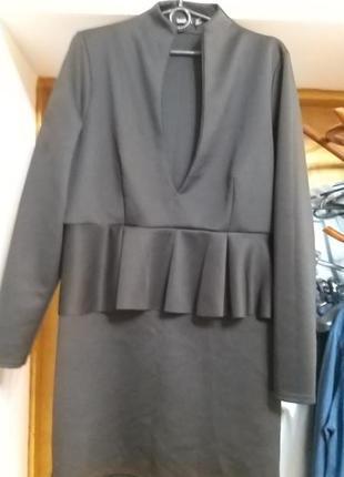 Брендовое,неопреновое ,интересное платье от boohoo