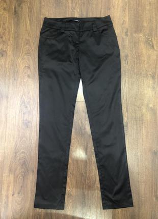 Атласные нарядные брюки