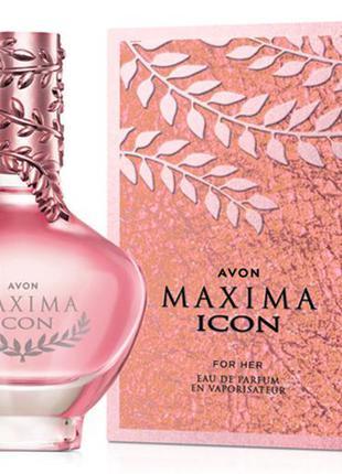 Парфумированная вода avon maxima icon для женщин - 50мл.