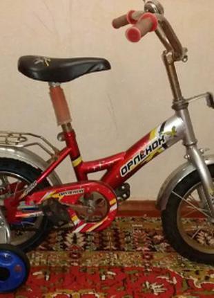 Детский велосипед орлёнок