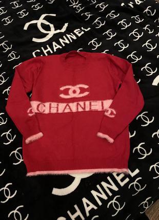 Кофта свитер шанель