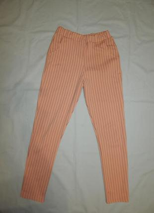 Prettylittlething брюки стрейч модные uk8 eur36 рxs/s