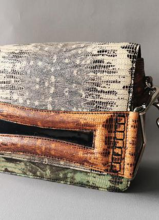 Kenzo кожаная сумка