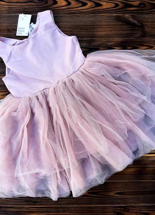Красивое пышное платье hm