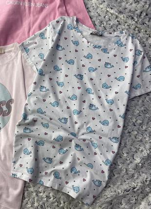 Хлопковая футболка в принт fb sister