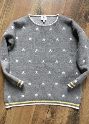 Luxury брендовый свитер свитшот кашемир меринос benedetta b италия 🇮🇹 оригинал
