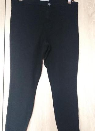 Классные черный джинсы брюки штаны размер 54-56