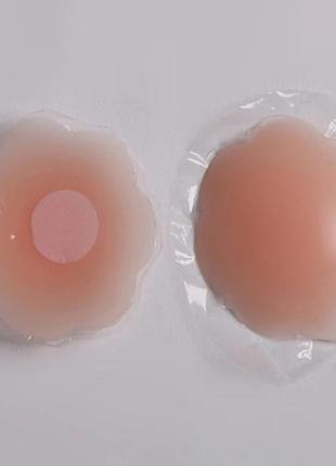 Накладки наклейки на грудь многоразовые