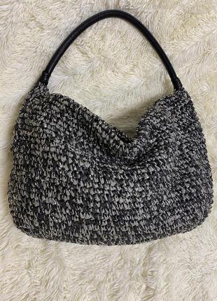 Плетёная сумка бренда abbacino