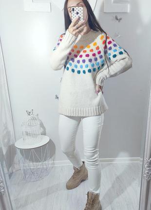Приятный мягкий свитер