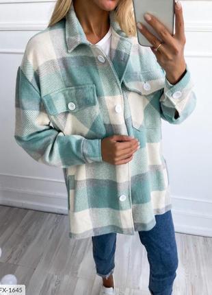 Рубашка теплая кашемир шерсть.
