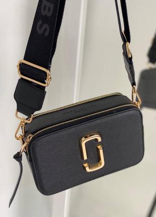 Женская сумка marc jacobs black gold