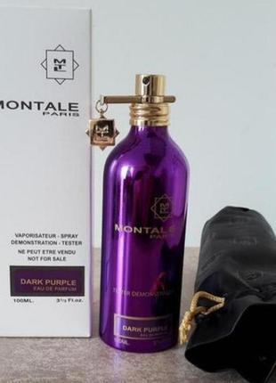 Духи montale paris dark purple