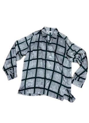 Шелковая рубашка gucci