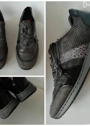 Фирменные кросовки- сникерсы rieker 38размер
