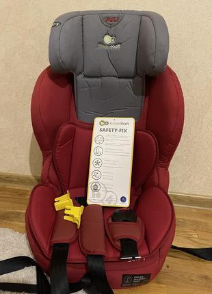 Пятиточечное автокресло на 9-36 кг kinderkraft safety-fix
