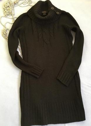 Шикарное тёплое платье-туника tchibo