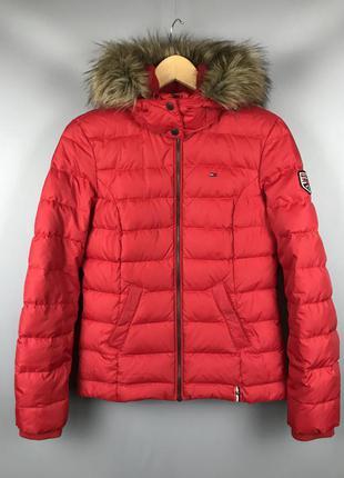 Зимняя женская куртка tommy hilfiger