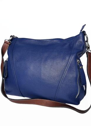 Кожаная сумка натуральная кожа cenuine leather италия