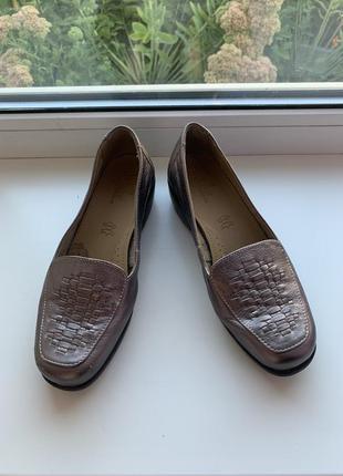 Новые кожаные туфли/ лоферы от footglove!