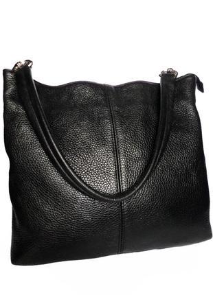 Кожаная сумка  натуральная кожа maxima италия
