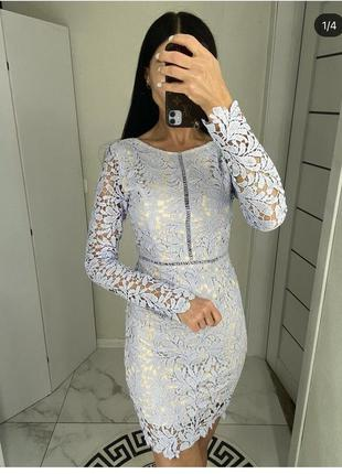 Красивое платье лавандового цвета торга нет