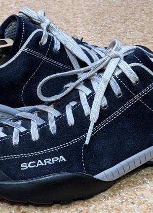 Трекинговые кроссовки scarpa mojito