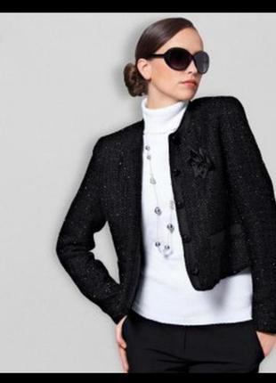 Базовый твидовый пиджак